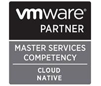 Logo VMWARE PARTNER: MASTER SERVICES COMPETENCY - CLOUD NATIVE